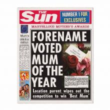 The Sun Best Mum Newspaper